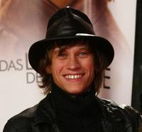 Vinzenz Kiefer at the German premiere of