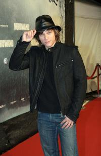 Vinzenz Kiefer at the Berlin premiere of