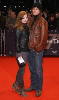 Josefine Preuss and Vinzenz Kiefer at the Berlin premiere of