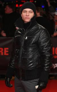 Vinzenz Kiefer at the European premiere of