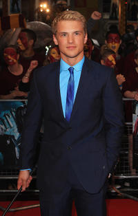 Freddie Stroma at the world premiere of