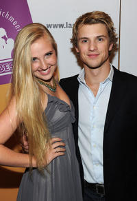 Veronica Dunne and Freddie Stroma at the opening night gala of