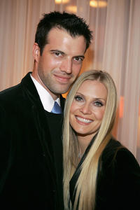Lorenzo Pisoni and Emily Procter at the launch Of The Escada 2006 Spring/Summer Collection to benefit St Jude Children's Research Hospital in California.