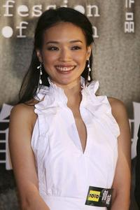 Qi Shu at the premiere of