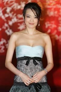 Qi Shu at the 27th Hong Kong Film Awards.