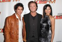 Boo Boo Stewart, Michael Welch and Tinsel Korey at the KIIS FM's Wango Tango 2010.