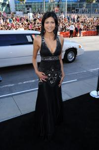 Tinsel Korey at the premiere of