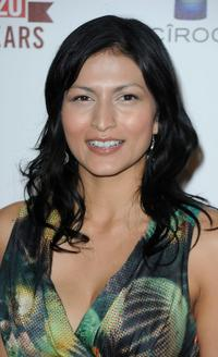 Tinsel Korey at the E! 20th Anniversary Party.