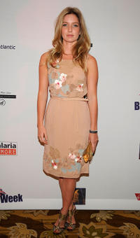 Annabelle Wallis at the BritWeek 2009