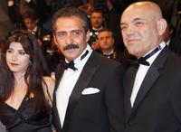 Ebru Ceylan, Yavuz Bingol and Ercan Kesal at the screening of