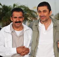 Yavuz Bingol and Director Nuri Bilge Ceylan at the photocall of