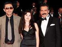 Director Nuri Bilge Ceylan, Ebru Ceylan and Yavuz Bingol at the premiere of