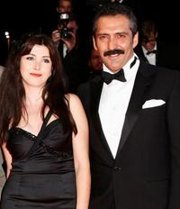 Ebru Ceylan and Yavuz Bingol at the premiere of