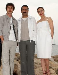 Ahmet Rifat Sungar, Yavuz Bingol and Hatice Aslan at the photocall of