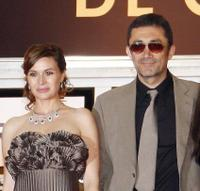 Hatice Aslan and Nuri Bilge Ceylan at the screening of