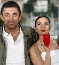 Director Nuri Bilge Ceylan and Hatice Aslan at the photocall of