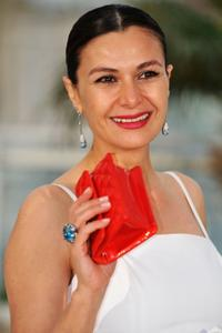Hatice Aslan at the photocall of
