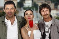 Director Nuri Bilge Ceylan, Hatice Aslan and Ahmet Rifat Sungar at the photocall of