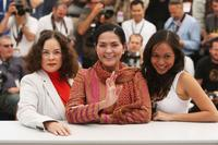 Jaclyn Jose, Gina Pareno and Mercedes Cabral at the 61st International Cannes Film Festival.