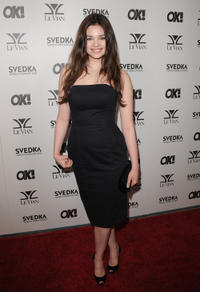 India Eisley at the OK! Magazine USA 5th Anniversary party in California.