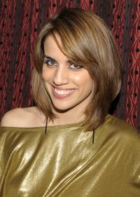 Natalie Morales at the after party of the screening of