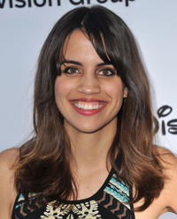 Natalie Morales at the Disney Media Networks International Upfronts in California.
