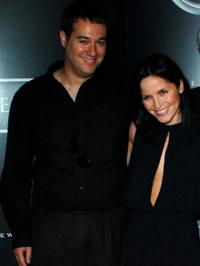 Richard Raymond and Andrea Corr at the premiere of