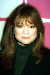 Valerie Bertinelli at a party to launch the famed sportswear designer Mossimo Giannulli Collection.