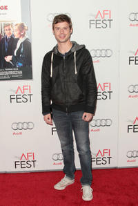 Nate Rubin at the premiere of