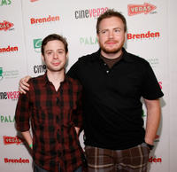 Nate Rubin and director Clay Liford at the red carpet of