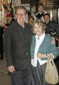 Corin Redgrave and wife Kika Markham at the London premiere of
