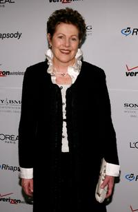 Lynn Redgrave at the Clive Davis pre-Grammy party.