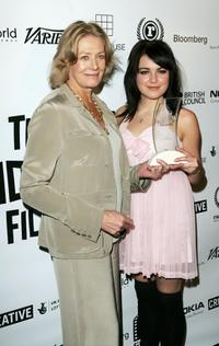 Vanessa Redgrave and Emily Barclay at the British Independent Film Awards.