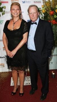 Amanda Redman and Dennis Waterman at the Galaxy British Book Awards.