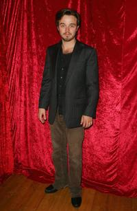 Matthew Newton at the Dungog Film Festival 09 Gala party.