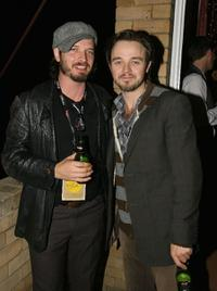 Aden Young and Matthew Newton at the after party of the premiere of