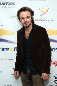 Matthew Newton at the screening of