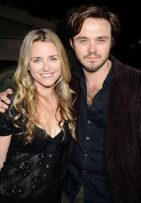 Trilby Glover and Matthew Newton at the premiere of