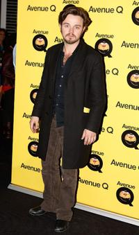 Matthew Newton at the Sydney premiere of