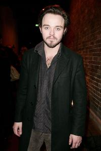 Matthew Newton at the after party of the 2009 Helpmann Awards.