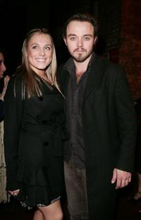 Matthew Newton and Guest at the after party of the 2009 Helpmann Awards.