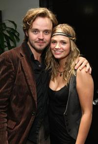 Matthew Newton and Stephanie McIntosh at the screening of