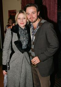 Veronica Sywak and Matthew Newton at the after party of the premiere of