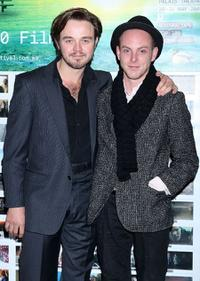 Matthew Newton and Tom Budge at the St Kilda Film Festival Opening Night.