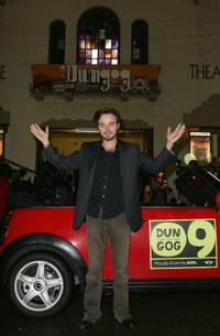 Matthew Newton at the premiere of