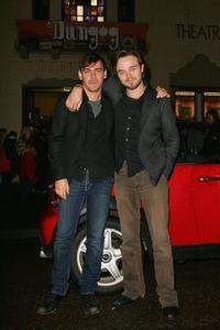 Marcus Graham and Matthew Newton at the premiere of