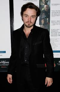 Matthew Newton at the premiere screening of