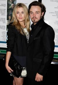 Rachael Taylor and Matthew Newton at the premiere screening of