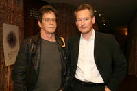 Lou Reed and director James Crump at the 2007 Tribeca Film Festival.