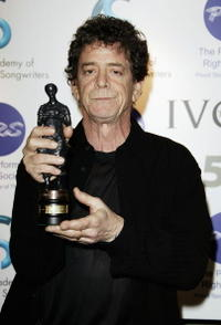 Lou Reed at the 50th Ivor Novello Awards.